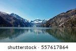 cruising towards margerie... | Shutterstock . vector #557617864