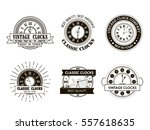 collection monochrome hipster... | Shutterstock .eps vector #557618635