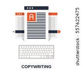 vector illustration of... | Shutterstock .eps vector #557622475
