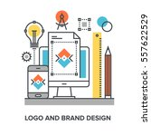 vector illustration of logo and ...
