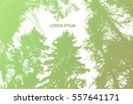 background branches of trees in ... | Shutterstock .eps vector #557641171