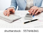 financial accounting  business... | Shutterstock . vector #557646361