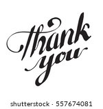 thank you lettering. hand drawn ... | Shutterstock .eps vector #557674081