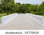bridge in park | Shutterstock . vector #55770910