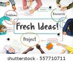 inspiration creative ideas...   Shutterstock . vector #557710711