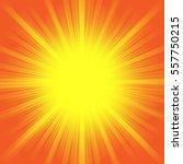 hot shiny summer sun light... | Shutterstock . vector #557750215