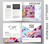business templates for square... | Shutterstock .eps vector #557750509