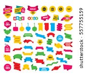 web stickers  banners and... | Shutterstock .eps vector #557755159