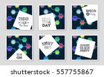 abstract vector layout... | Shutterstock .eps vector #557755867