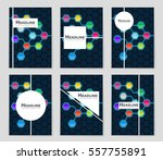 abstract vector layout... | Shutterstock .eps vector #557755891