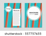 abstract vector layout... | Shutterstock .eps vector #557757655