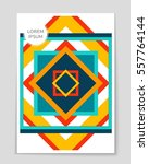 abstract vector layout...   Shutterstock .eps vector #557764144