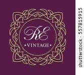 template of vintage logo....   Shutterstock .eps vector #557815915
