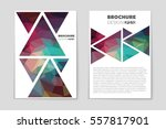 abstract vector layout... | Shutterstock .eps vector #557817901