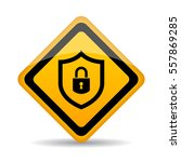 abstract security vector sign... | Shutterstock .eps vector #557869285