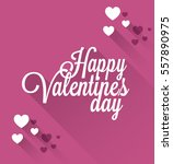 happy valentine's day | Shutterstock .eps vector #557890975