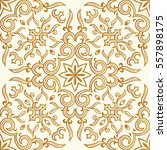 vector seamless gold pattern... | Shutterstock .eps vector #557898175