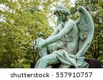 Fragment Statue Of Angel At Th...
