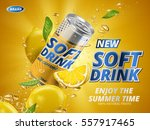 soft drink lemon flavor...