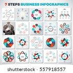 big collection of vector arrows ...   Shutterstock .eps vector #557918557