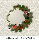 illustration of christmas or... | Shutterstock .eps vector #557922385