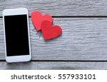 valentine day internet...   Shutterstock . vector #557933101