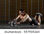 portrait full length of... | Shutterstock . vector #557935264