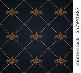 vector seamless pattern. modern ... | Shutterstock .eps vector #557941687