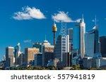 Sydney Skyline With Sydney...