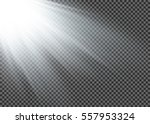 vector spotlight. light effect | Shutterstock .eps vector #557953324