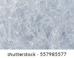 frozen water ice surface with... | Shutterstock . vector #557985577