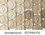 british gold sterling one pound ... | Shutterstock . vector #557996701