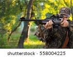 hunter.   Shutterstock . vector #558004225
