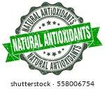 natural antioxidants. stamp.... | Shutterstock .eps vector #558006754