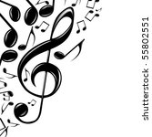 music theme | Shutterstock . vector #55802551