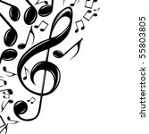 eps music theme | Shutterstock .eps vector #55803805