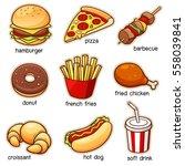 vector illustration of... | Shutterstock .eps vector #558039841