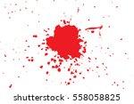 grunge style halloween... | Shutterstock .eps vector #558058825