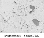 white wall with cracks | Shutterstock . vector #558062137