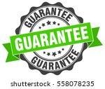guarantee. stamp. sticker. seal.... | Shutterstock .eps vector #558078235