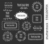 identity template | Shutterstock .eps vector #558100954