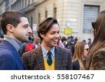 milan  italy   january 15 ...   Shutterstock . vector #558107467