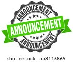 announcement. stamp. sticker.... | Shutterstock .eps vector #558116869