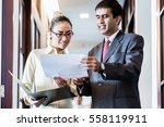 indian business executive man... | Shutterstock . vector #558119911