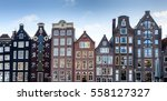 Narrow Old Housing Buildings I...