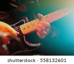 abstract blurred image. actor... | Shutterstock . vector #558132601