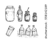 vector hand drawn collection | Shutterstock .eps vector #558142189