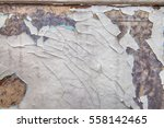 the old shabby paint is... | Shutterstock . vector #558142465