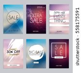 sale website banners web... | Shutterstock .eps vector #558175591