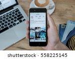 chiang mai  thailand   jan 16 ... | Shutterstock . vector #558225145